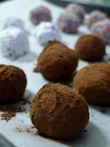 Recipe: Dark Chocolate Nutella Truffles
