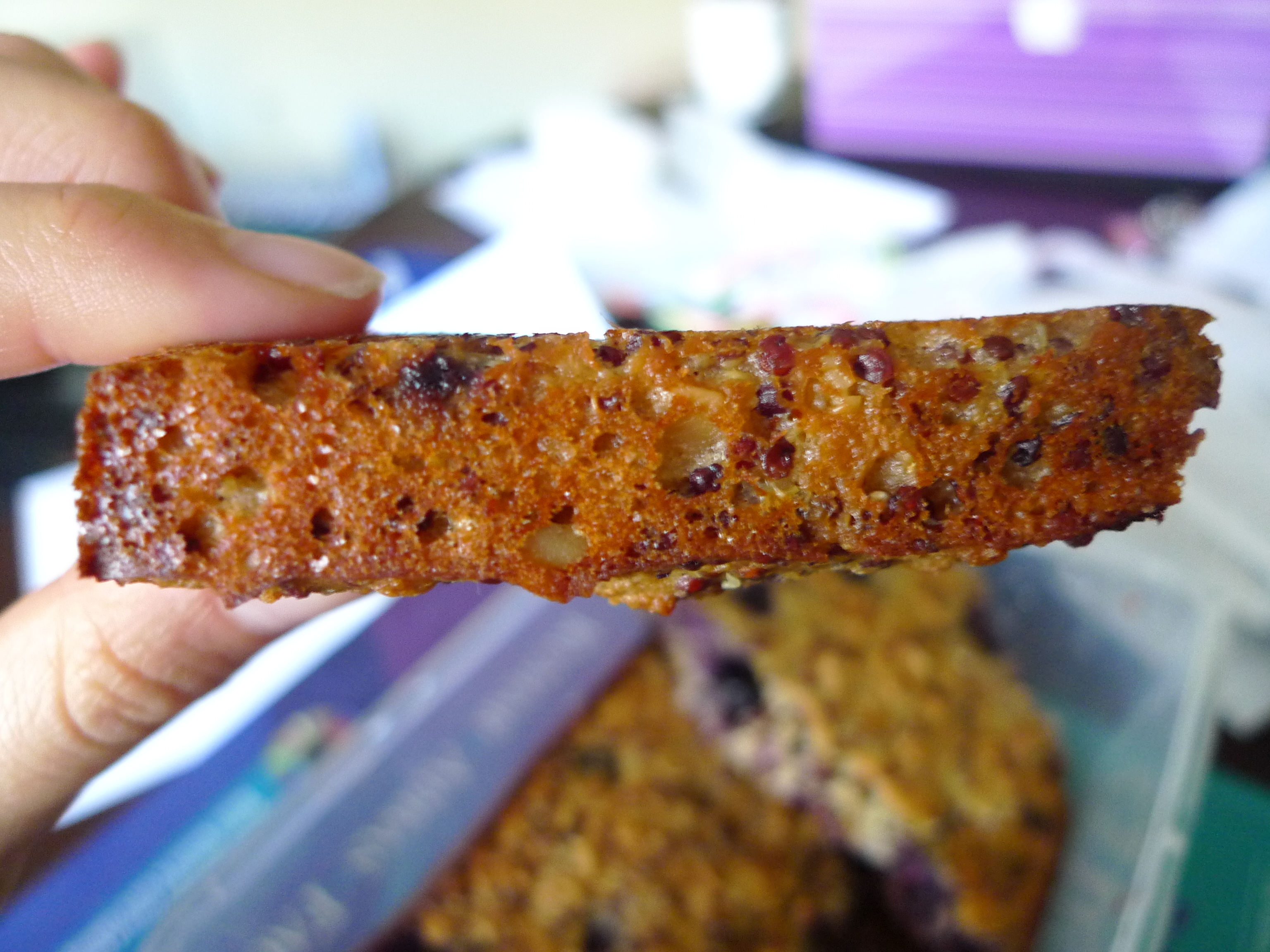Makes 9 large bars or eat straight out of the pan like me :) Was ...