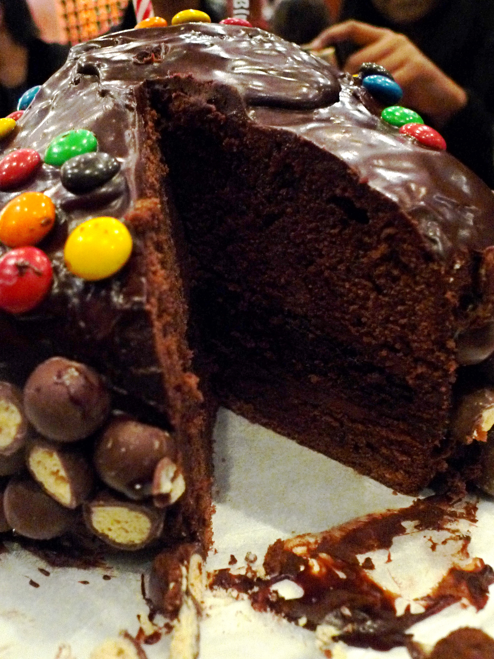 Recipe: Chocolate Cake with Caramel Milk Chocolate Frosting and ...