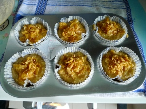 Recipe: Sugar Free Wholegrain Banana Cinnamon Muffins