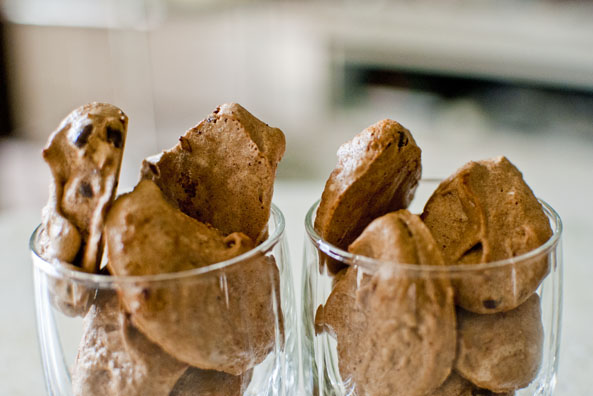 choc chip Recipe: Chocolate Chip Meringue Cookies