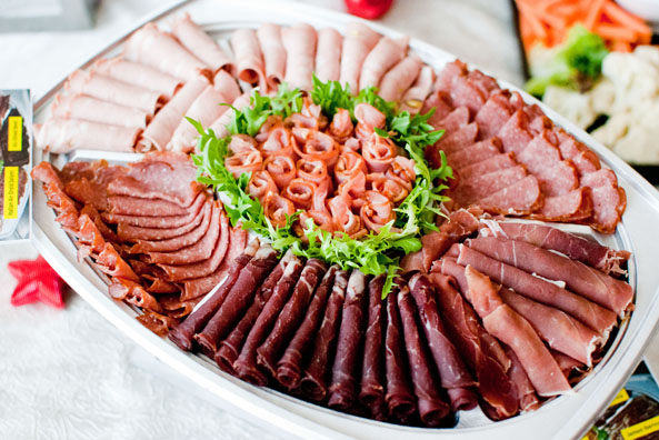 While the Italian Cold Cut Platter $99.99 for 1.2kg (serves 8-10 pax ...