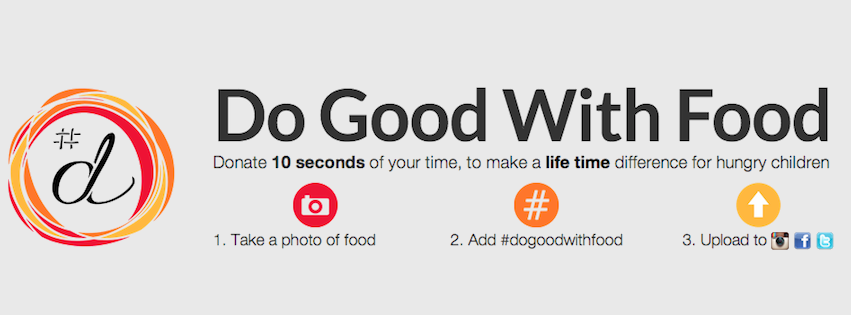 mission Do Good With Food #dgwf  | A Social Media Initiative