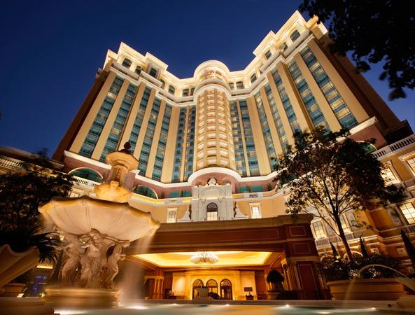 Four Seaons Hotel Macao, Cotai Strip- Facade