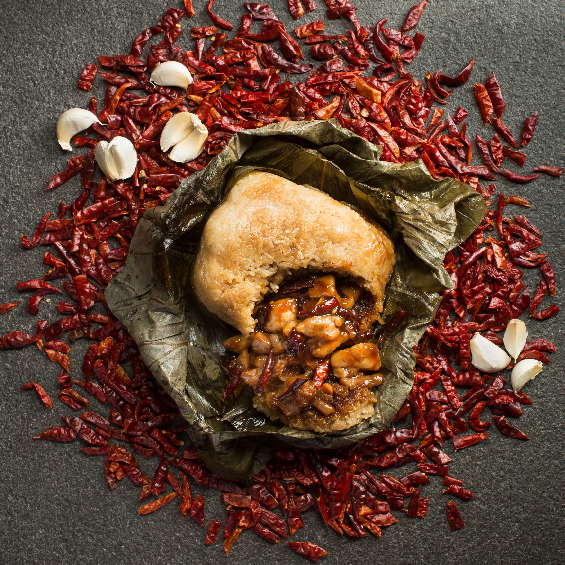 Szechuan Court_Gong Bao Chicken Rice Dumpling